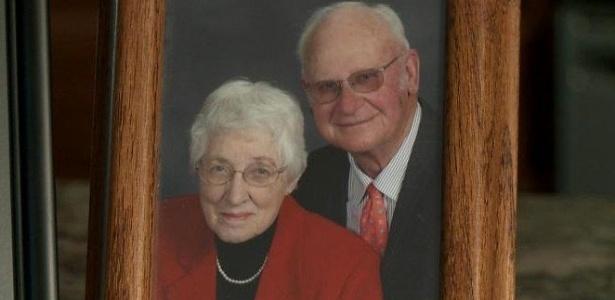 Retrato com o casal Henry e Jeanette De Lange