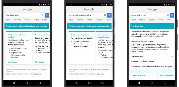Buscas do Google retornarão informações médicas do Hospital Albert Einstein - Fabiana Uchinaka/UOL