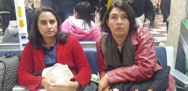 Passei a noite em Congonhas, mas defendo a greve, diz passageira - Janaina Garcia/UOL