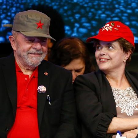 Os ex-presidentes Lula e Dilma em foto de 2017 - Pedro Ladeira/Folhapress