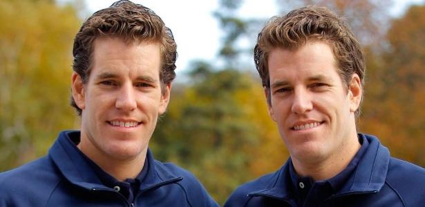 Irmãos Winklevoss, ex-amigos do fundador do Facebook, Mark Zuckerberg