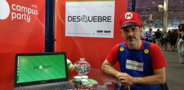 """Luciano Palma, um dos criadores do app Desquebre, é fã do """"faça você mesmo"""" - Rodrigo Lara/Gamehall"""