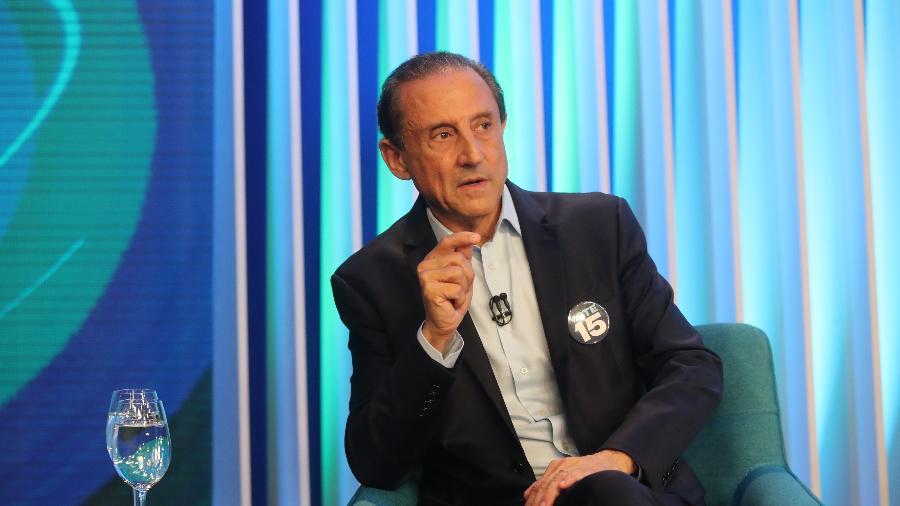 Paulo Skaf participou de reunião com Bolsonaro hoje - Alex Silva/Estadão Conteúdo