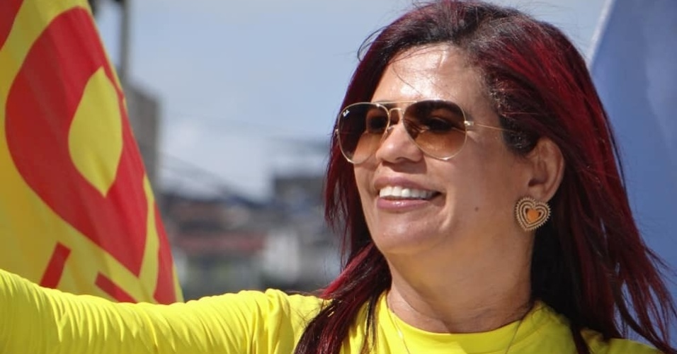 10.out.2018 - Com 412.636 votos, a delegada Gleide Ângelo (PSB), 52 anos, foi a mais votada em Pernambuco na disputa para uma vaga na Assembleia