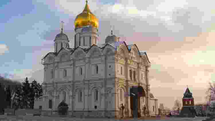 A Catedral dos Arcanjos em Moscou, na Rússia - Getty Images - Getty Images