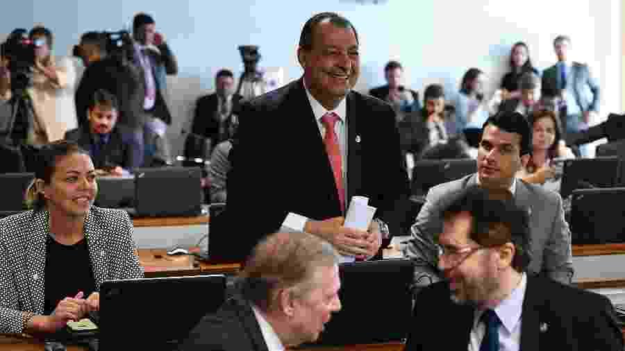 A distribuição de recursos para Estados e municípios foi colocada com uma das condições para o Senado concluir a reforma da Previdência - Pedro França/Agência Senado