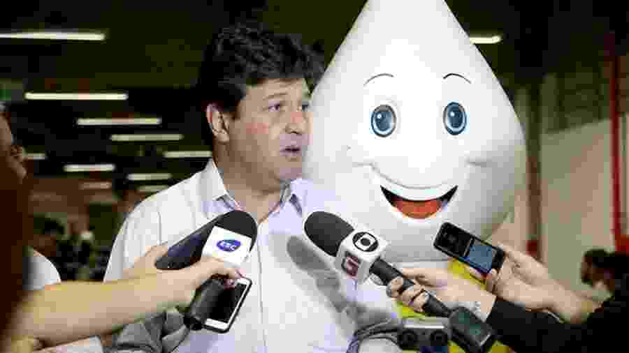 O ministro da Saúde, Luiz Henrique Mandetta - Erasmo Salomão/MS