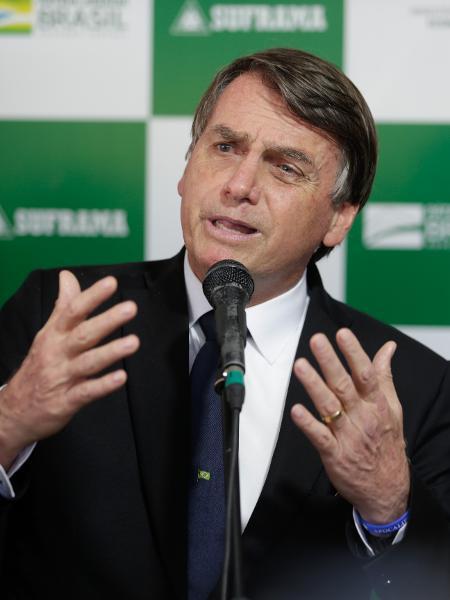 O presidente da República, Jair Bolsonaro - Gabriela Biló/Estadão Conteúdo