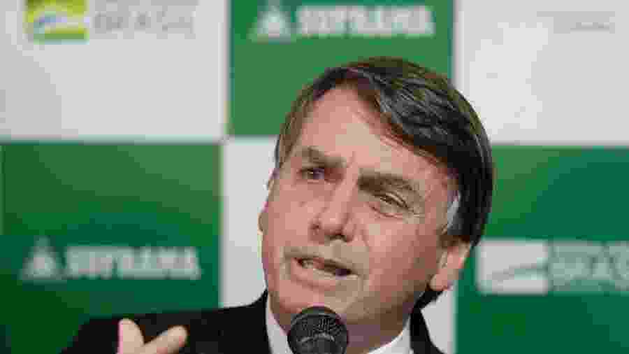 O presidente da República Jair Bolsonaro - Gabriela Biló/Estadão Conteúdo