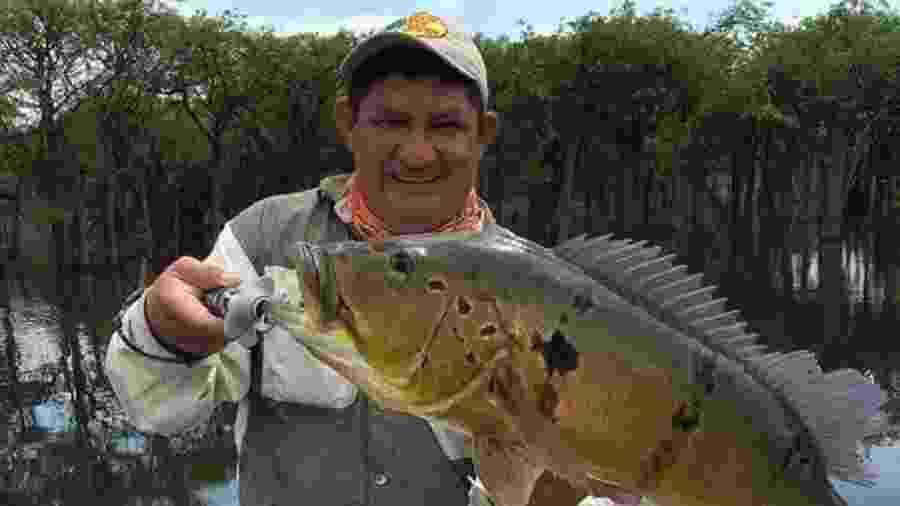 Geraldo Sávio, 49, morreu vítima de covid-19 no Amazonas. Ele confundiu os sintomas com os de um resfriado - Arquivo pessoal