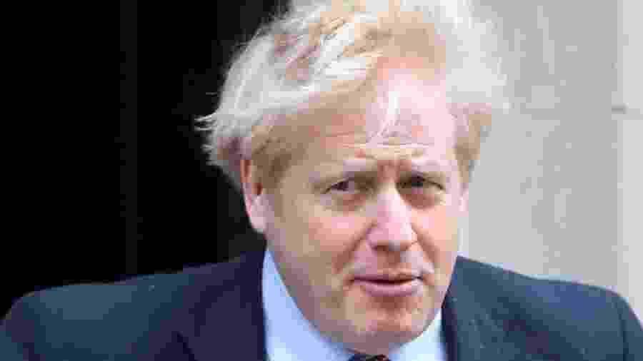 Premiê britânico, Boris Johnson - POOL New