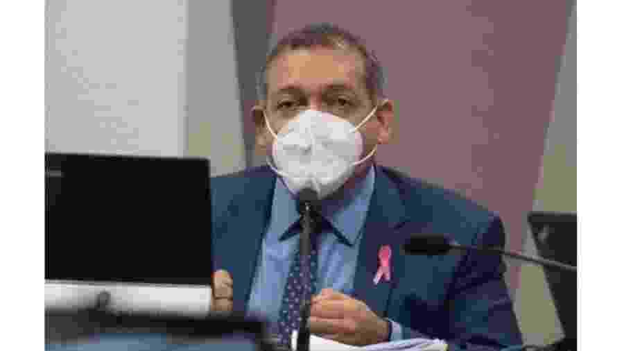 Kassio Marques, ministro aprovado do Supremo, durante sabatina na CCJ. Ele se saiu muito bem, mas conheceremos seus trabalho por seus votos - Hugo Barreto/Metrópoles
