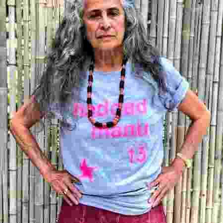 Maria Bethânia declara voto em Haddad - Acervo pessoal - Acervo pessoal