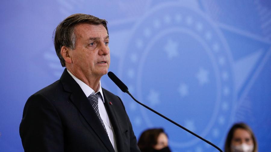 Presidente terá, em ano eleitoral, a maior folga já vista no teto de gastos desde a criação da regra - Alan Santos/Presidência da República/Divulgação