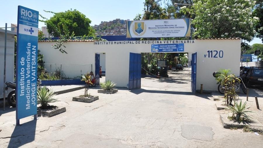 Diagnóstico foi feito pelo Instituto Municipal de Medicina Veterinária Jorge Vaitsman - Divulgação