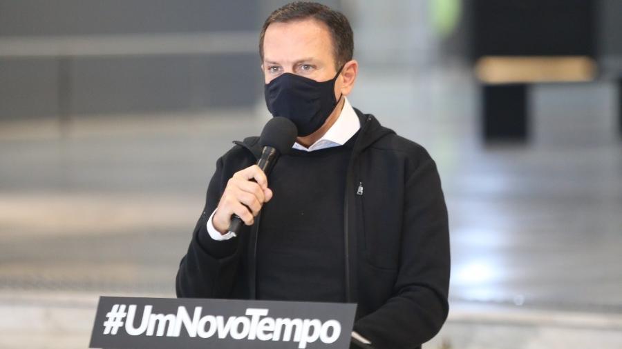 """Postagem verificada aqui afirma ser """"muito interessante"""" que o STF nada tenha feito contra o governador do estado, João Doria (PSDB) - Reprodução"""