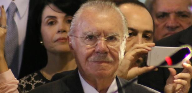 O ex-presidente peemedebista José Sarney