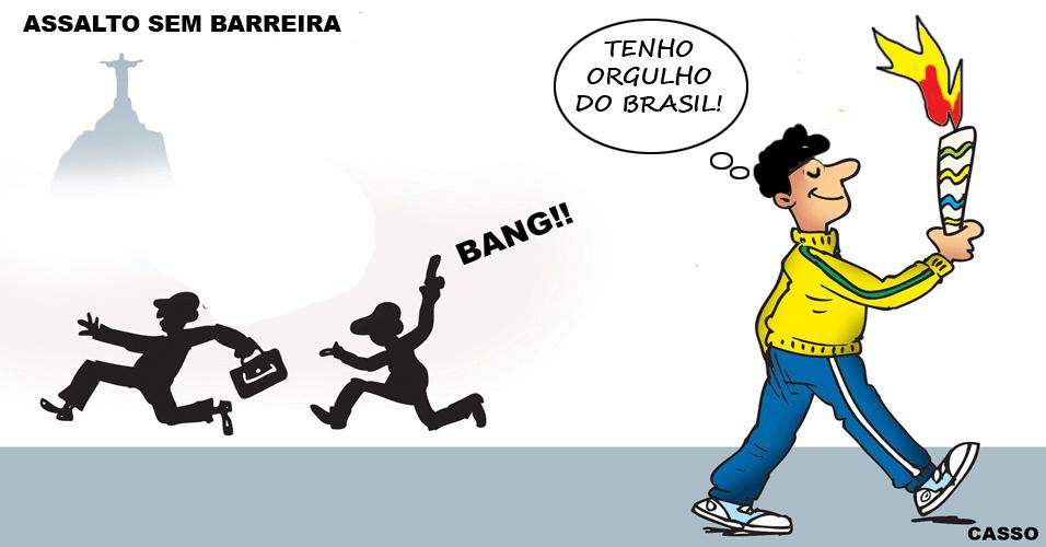 31.mai.2016 - Nova modalidade de esporte nos Jogos Olímpicos do Rio