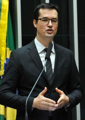 O procurador da república Deltan Dallagnol, da Operação Lava Jato