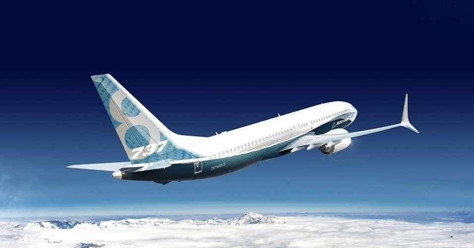 Avião 737 MAX da Boeing
