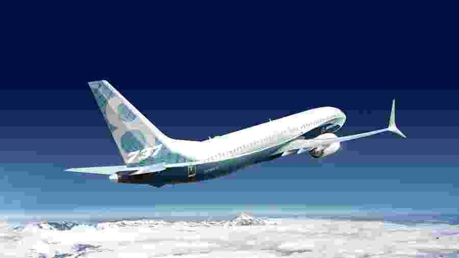 Avião 737 MAX da Boeing - Reprodução