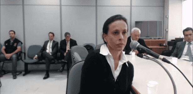 27.abr.2017 - Adriana Ancelmo em depoimento ao juiz Sérgio Moro em Curitiba - Reprodução/Justiça Federal do Paraná