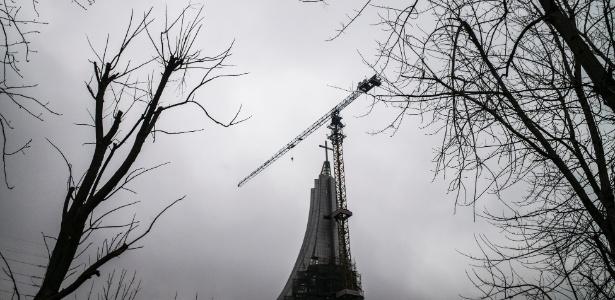 Igreja em Changsha, na China é mais alta que a maior estátua de Mao Tsé-tung