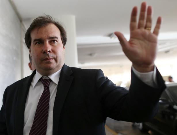 O presidente da Câmara dos Deputados, Rodrigo Maia, se pronunciou no Twitter