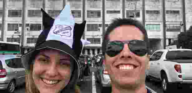 Câmera de selfie do iPhone 8 Plus é excelente - talvez a melhor do mercado brasileiro - Gabriel Francisco Ribeiro/UOL - Gabriel Francisco Ribeiro/UOL