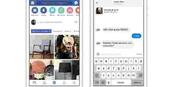 Facebook Marketplace - compra e venda pela rede social - Divulgação - Divulgação