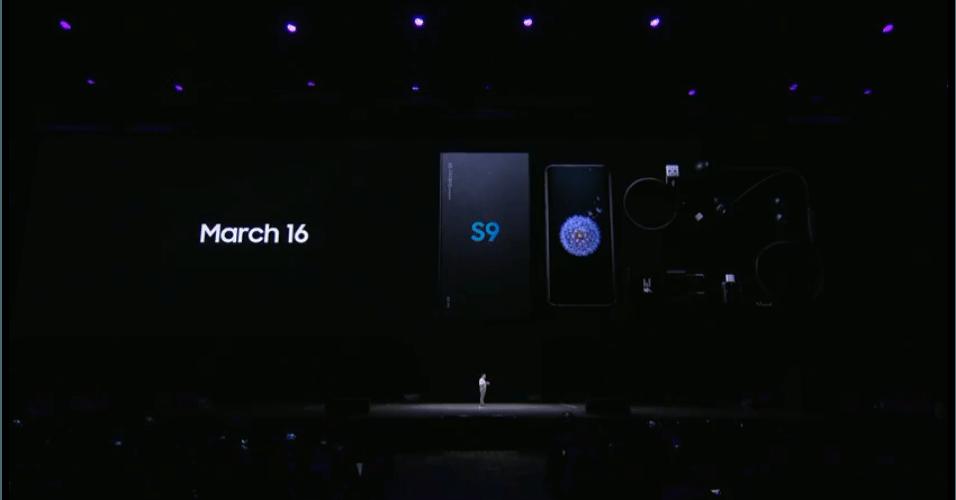 S9 e S9 Plus chegarão ao mercado em 16 de março. A Samsung só não falou quanto eles vão custar.