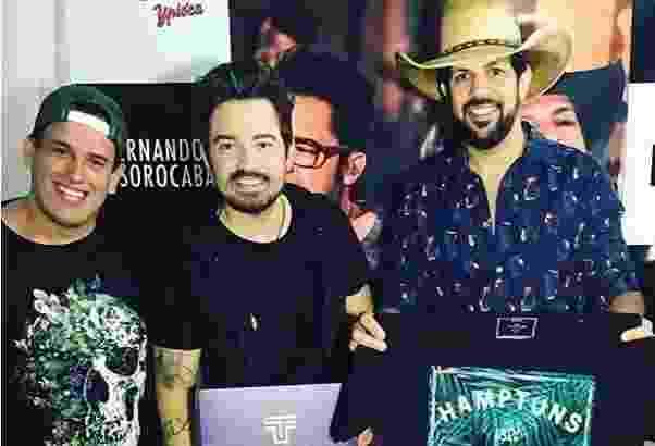 TFlow Luã Vignoli, Fernando & Sorocaba - Divulgação