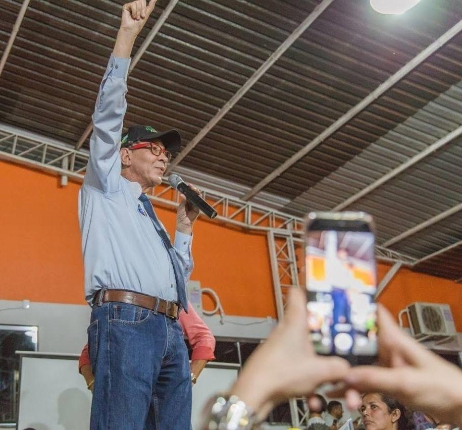 28.set.2018 - Em Roraima, o campeão de votos para deputado federal foi Haroldo Cathedral (PSD), com 14 mil votos