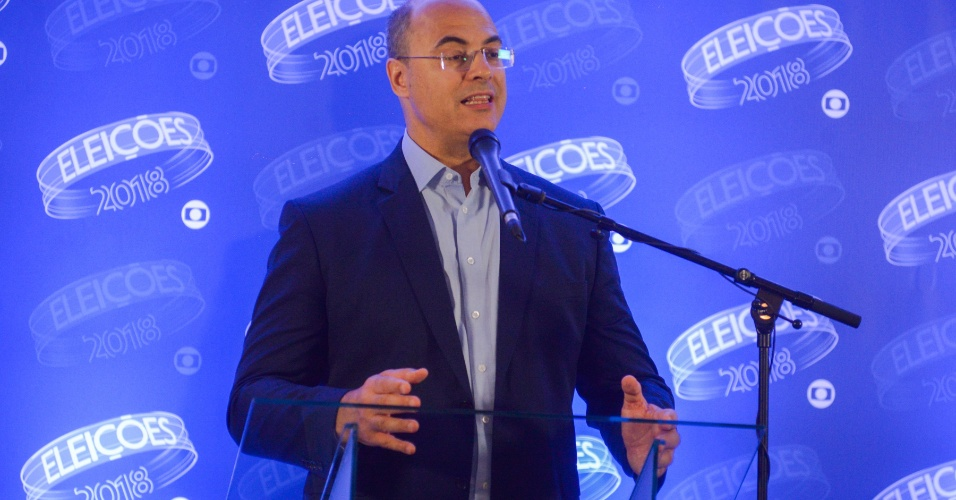 25.out.2018 - Witzel confronta Paes no último debate na Rede Globo antes da votação