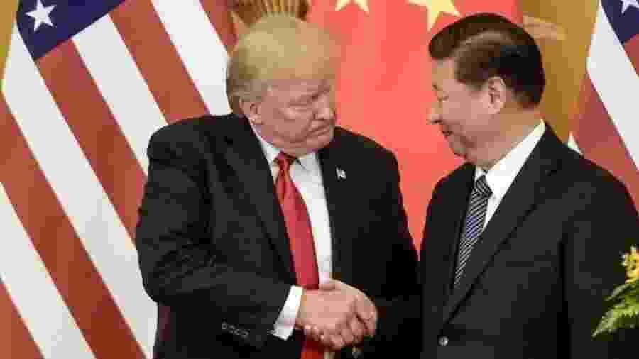 O tema mais urgente na mesa de discussão do G20 é a guerra comercial entre Estados Unidos e China - AFP/Getty Images