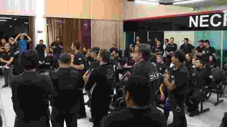 Operação coordenada pela Polícia Civil teve apoio do MP e da SAP - 24.jan.2019 - Divulgação/Polícia Civil