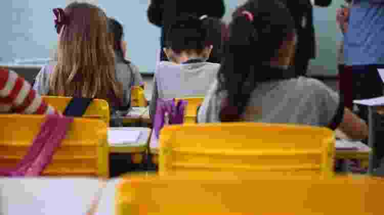 Dados do Censo ajudam a traçar panorama de estudantes de escolas, incluindo taxas de abandono - André Nery/MEC/BBC - André Nery/MEC/BBC