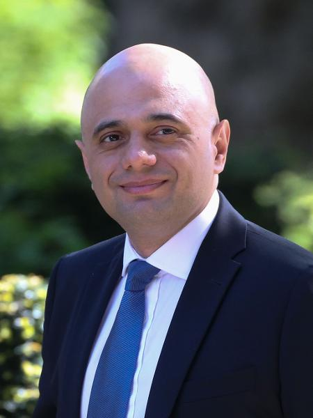 Sajid Javid, ministro da Saúde britânico - Isabel Infantes / AFP
