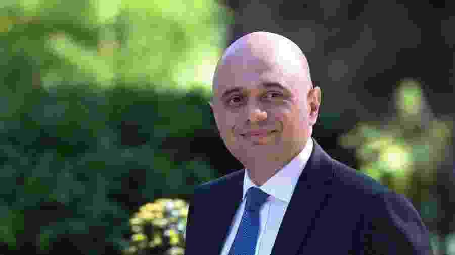 Sajid Javid, ex-ministro das Finanças e que foi um dos cotados para substituir a primeira-ministra britânica Theresa May - Isabel Infantes / AFP