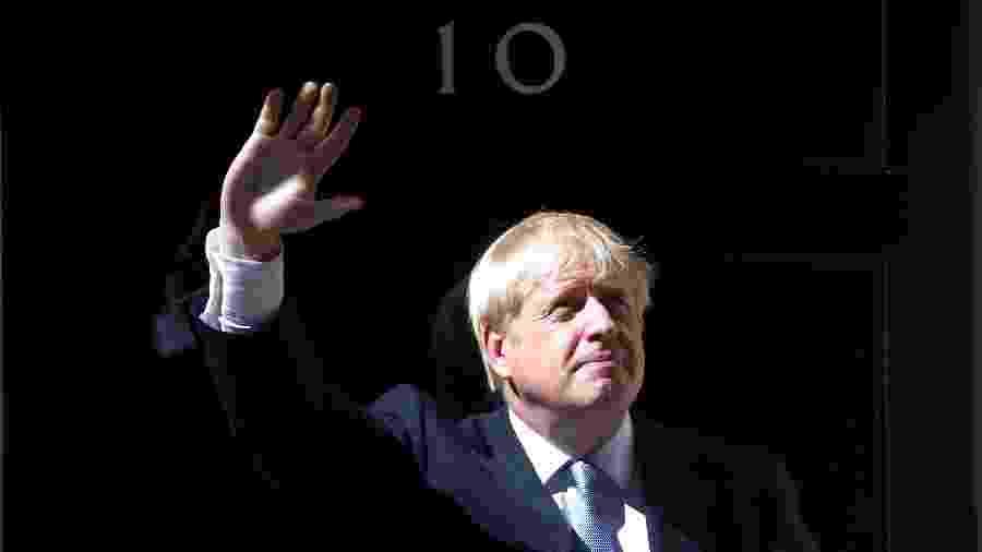 O premiê britânico, Boris Johnson - Hannah McKay/Reuters