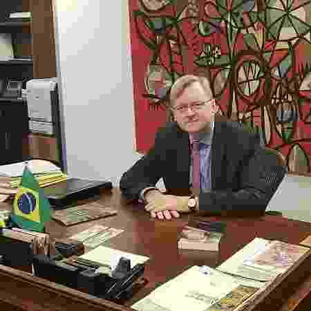 Nestor Forster Junior, indicado para a embaixada em Washington - 1º.jul.19/Divulgação Itamaraty