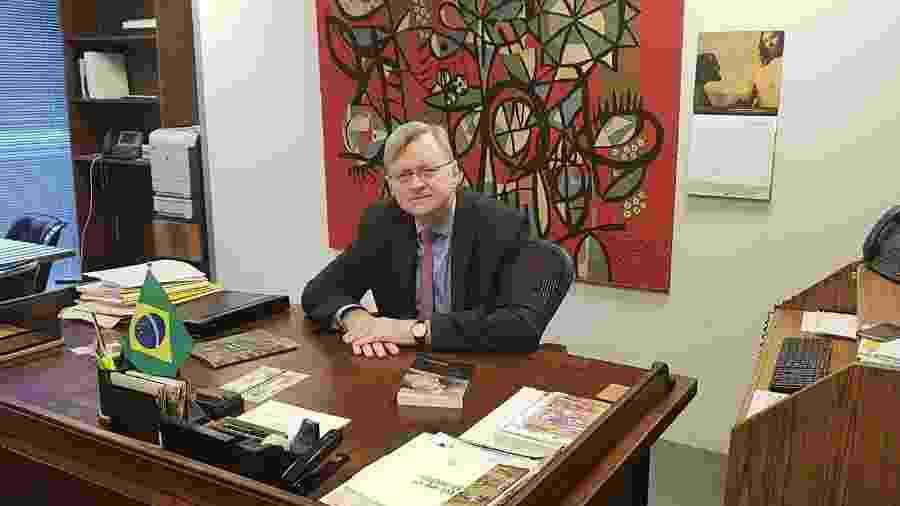 O diplomata Nestor Forster Junior, que está à frente da Embaixada do Brasil nos EUA - 1º.jul.19/Divulgação Itamaraty