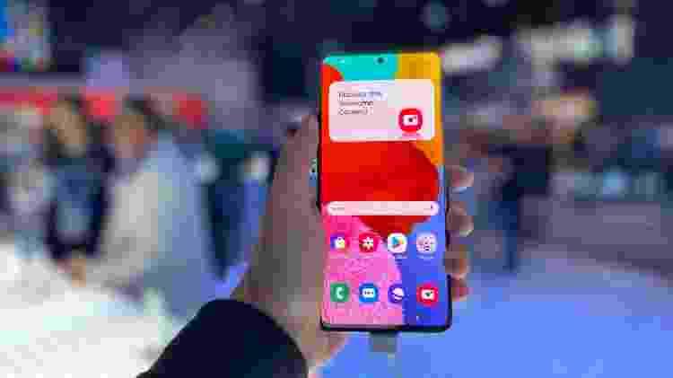 Samsung Galaxy A51 - Gabriel Francisco Ribeiro/UOL - Gabriel Francisco Ribeiro/UOL
