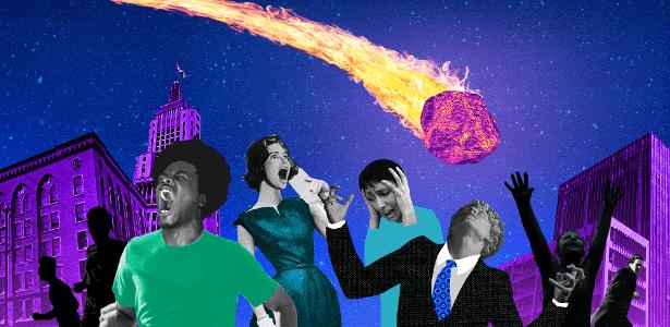 Como seria se... um meteorito como o que matou os dinossauros caísse hoje?