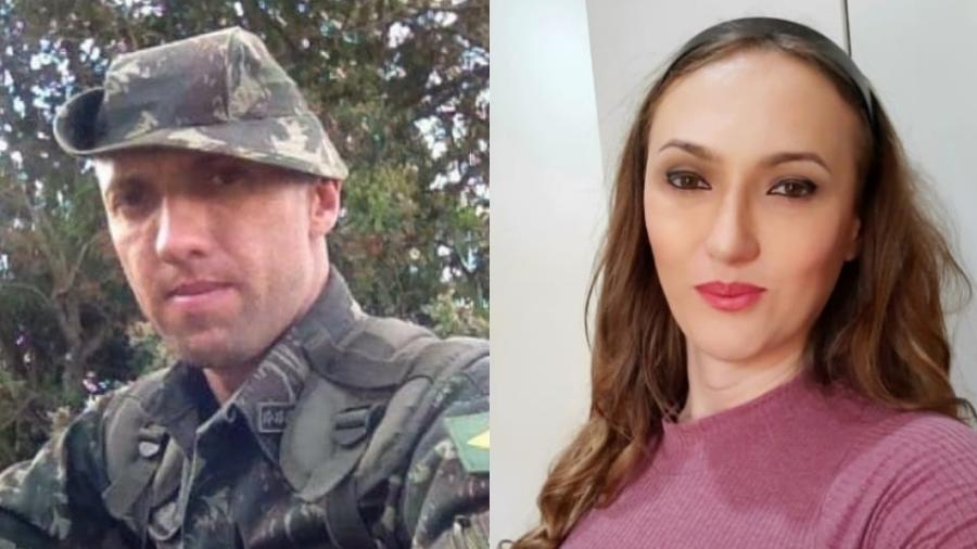 """Mulher trans, Renata Gracin é major do Exército e divulgou """"antes e depois"""" em redes sociais - Reprodução/Facebook"""