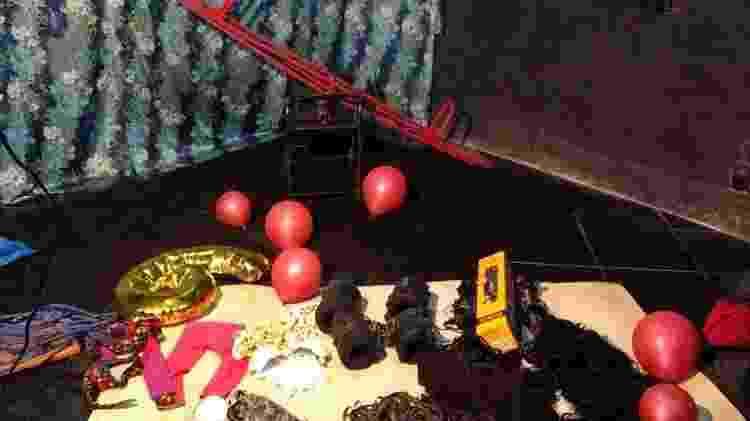 15.ago.2020 - Polícia Civil do Rio localiza casa que funcionava como estúdio de pornografia infantil. O alemão Klaus Berno Fischer, preso enquanto se escondia em um sítio na região metropolitana, é apontado como o responsável pelo esquema - Divulgação/Polícia Civil - Divulgação/Polícia Civil
