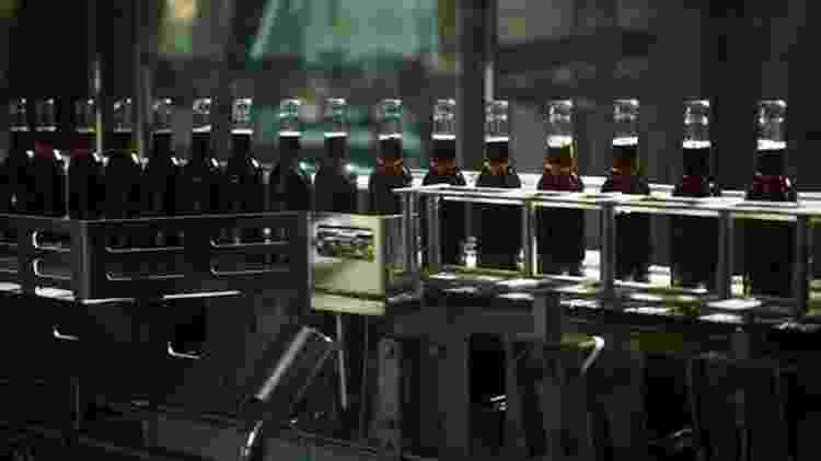 A produção de refrigerantes está nas mãos de cinco fábricas - Florent Jalon - Florent Jalon