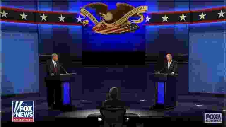 trump_biden - Reprodução/Youtube-Fox News - Reprodução/Youtube-Fox News