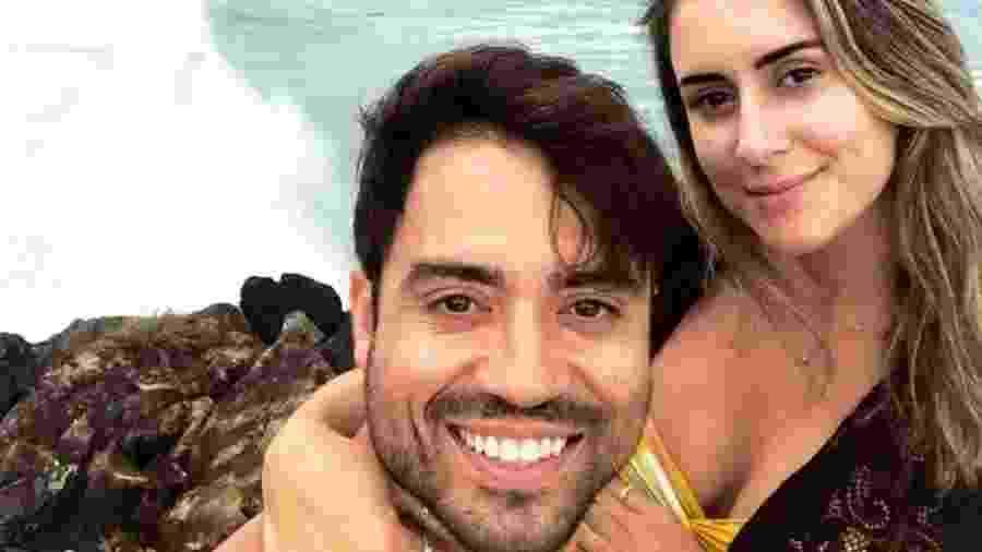Elton Gonçalves Campelo e Isabela Araújo Valença, encontrados mortos em um condomínio de Salvador - Redes sociais/Reprodução