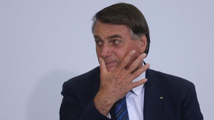 Jair Bolsonaro participou ontem de almoço com parlamentares da bancada mineira e com o governador de Minas Gerais, Romeu Zema (Novo-MG) - Dida Sampaio/Estadão Conteúdo